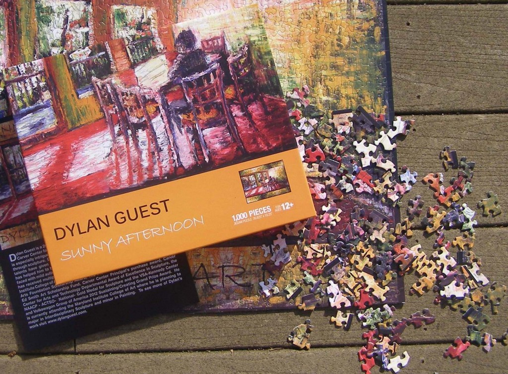 Puzzle created from Dylan's Painting